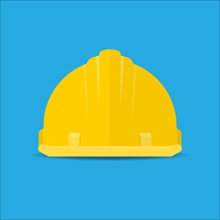 dangerous construction: Safety helmet icon.