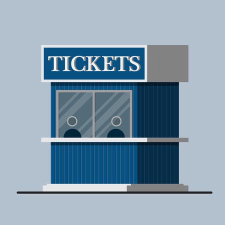 Ticketschalter.