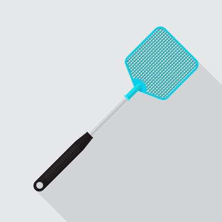 Fly swatter icon vector flat design.