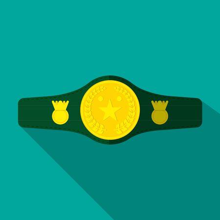 Cintura da campionato di boxe.
