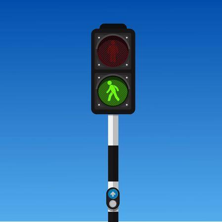pedestrian traffic lights.