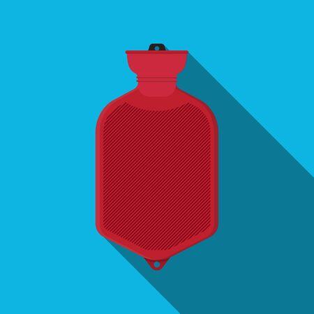 hot water bottle icon. Vektorové ilustrace