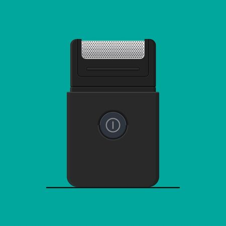 Electric shaver vector flat design. Çizim