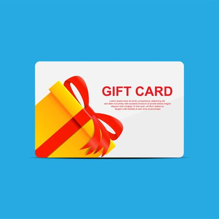 Gift card icon vector illustration.