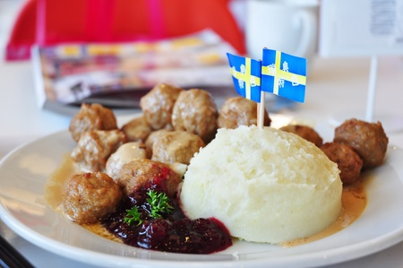 The most typical food in Sweden