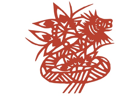 various lifelike Chinese Dragon paper cutting, all shapes can be used as symbol or tatoo Stock Vector - 16189477