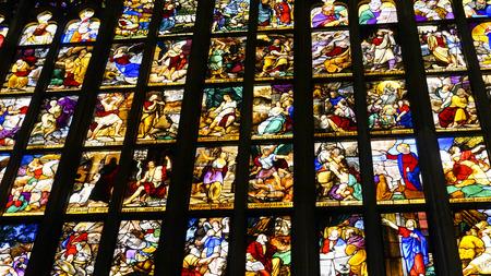 Milano Duomo, one of the biggest Gothic style church in the world. Archivio Fotografico