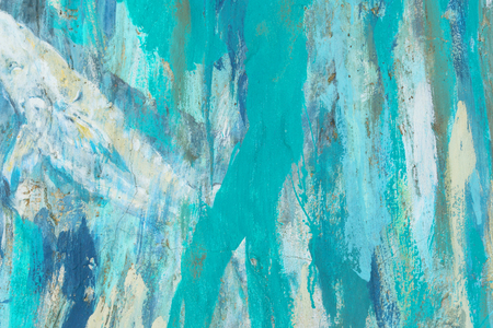 Background abstract of blue clolor paint,
