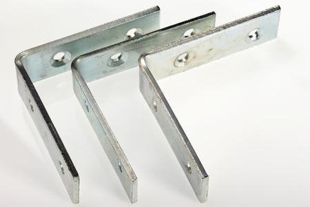bracket: Steel Bracket isolated on white background