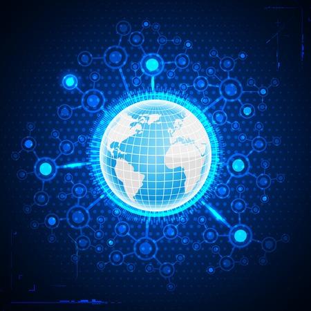 globális üzleti: Globális üzleti Illusztráció