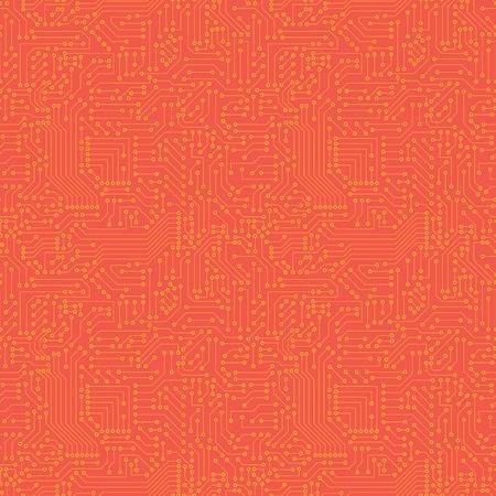 Seamless pattern  Computer circuit board