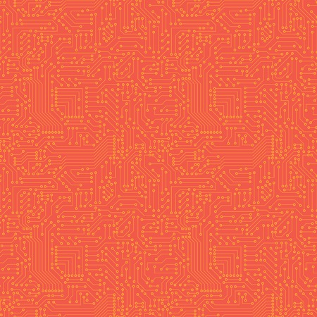 mother board: Seamless pattern  Computer circuit board