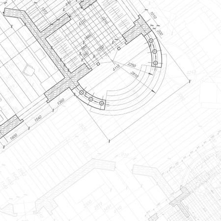 Architectural background. Vecteurs
