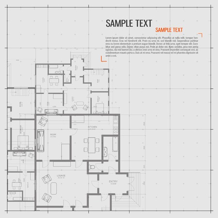 floor plan: Architectural background.
