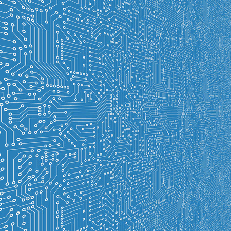 electrical part: Seamless pattern. Computer circuit board.