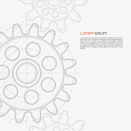 technology background: Abstract technology background. Vector illustration.