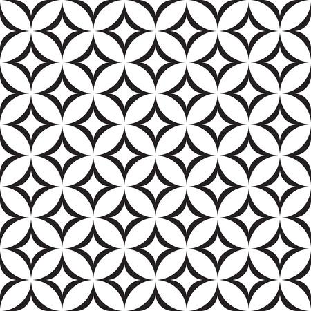 geometry: Retro seamless pattern.