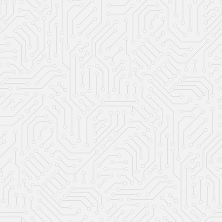 Computer circuit board. Seamless pattern