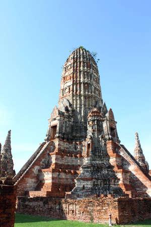 Wat Chaiwatthanaram of Ayuthaya in Thailand photo