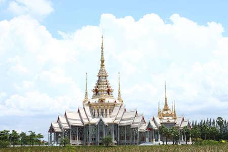korat: Wat  Sorapong at Korat Stock Photo