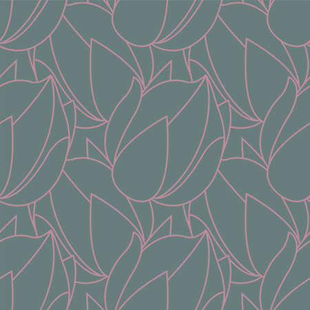 line art foliage, leaves, organic, seamless pattern, background for fabric, textile, wallpaper, scrap booking and much more
