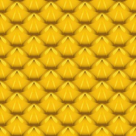 vector pineapple fruit texture seamless pattern