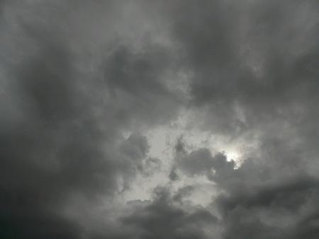 dark: dark sky Stock Photo