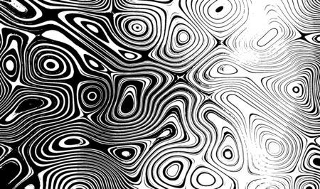 Black and white vector liquid texture Foto de archivo - 128435296
