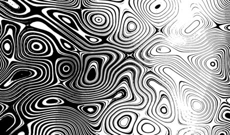 Black and white vector liquid texture