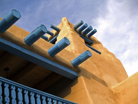 Southwestern architectural detail Stock Photo - 5882966