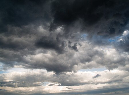 Stormy clouds on summer evening. Stock Photo - 7316916