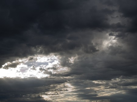 Stormy clouds background photo