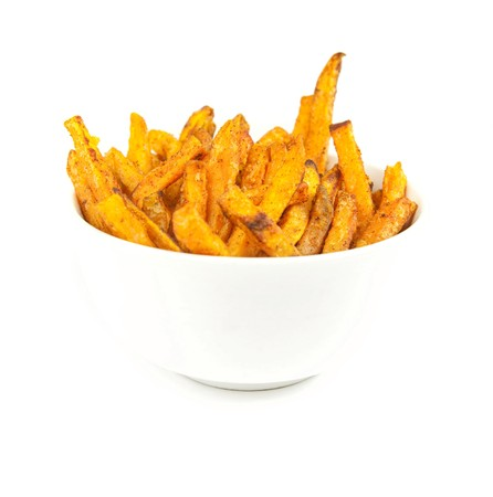 Sweet potato fries Stok Fotoğraf