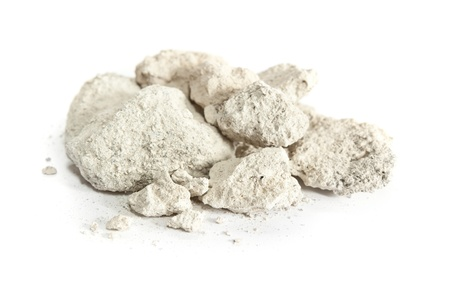 Caliche, sedimentary rock, consisting mainly calcium carbonate  Used in construction worldwide