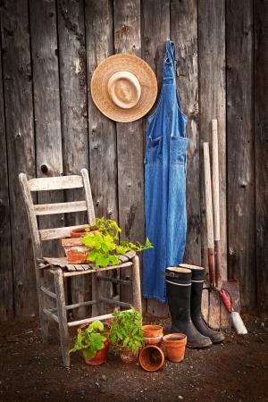 sheds: Gardener s tools