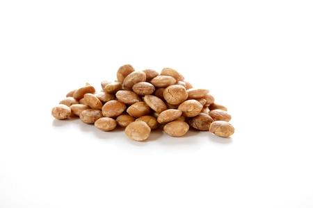 Roasted sacha inchi seeds, good source of plant based omega 3 fatty acids  Plukenetia volubilis  Stock Photo