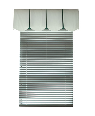 blinds: Window with blinds, an architectural element Stock Photo