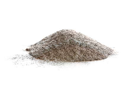 catalyst: Aluminum powder, non-alloyed spherical, used in rocket motors, automotive paints, refractories. Al. Stock Photo