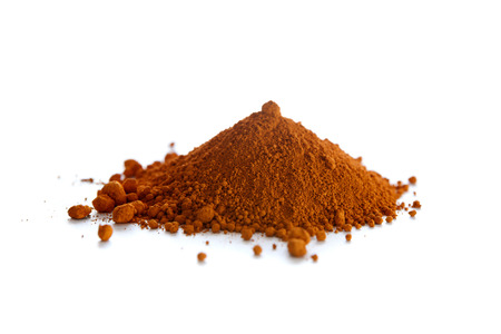 yellow  ochre: Ochre, also spelled ocher, a natural yellow earth pigment based on hydrated iron oxide.