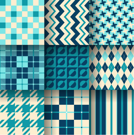 stylish decoration: Backgrounds. Seamless pattern background. Vector illustration. Pattern Swatches made with Global Colors - quick, simple editing of color