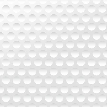 Fondo del golf. Realistika textura de una pelota de golf. Fondo blanco limpio Foto de archivo - 35516788