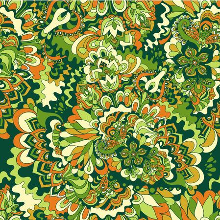 funky: floral pattern Illustration