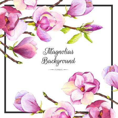 Bloemen patroon met waterverf realistische bloemen op een witte achtergrond voor uw ontwerp en de inrichting.