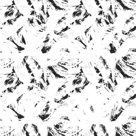 smudges: Vector illustration of abstract ink texture. Ink smudges on white paper. Black and white. Illustration
