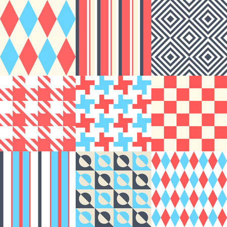 checkered: Vector illustration. Chess and striped background. Multicolor design.