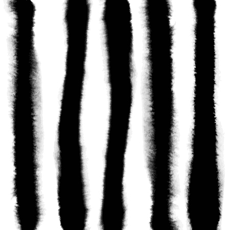 Pattern with creative texture. Vector background of paint strokes. Black and white. Vertical lines.