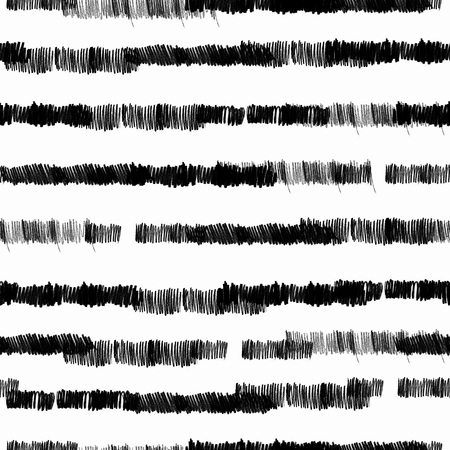 Seamless striped pattern with a creative texture. Illustration of colored pencils background. Pencil lines. Stock Photo