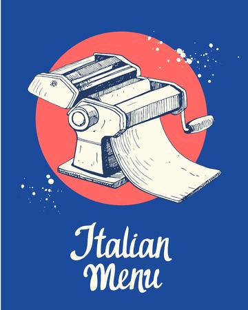 Pasta machine Sketch