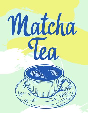 Japanese ethnic and national tea ceremony. Matcha. Reklamní fotografie - 121899157
