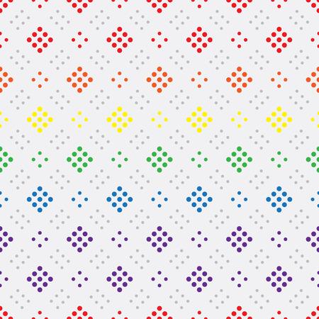 freedom couple: LGBT Gay love concept - Rainbow geometric seamless pattern design texture.